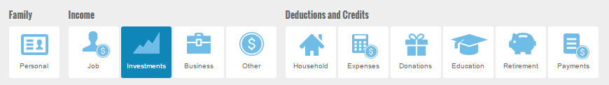 2012 tax calc info